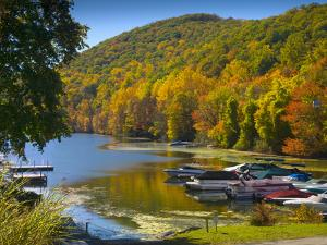 Lake Candlewood, Connecticut, New England, United States of America, North America by Alan Copson