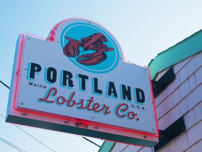 Lobster Restaurant, Portland, Maine, New England, United States of America, North America