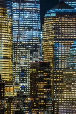 Lower Manhattan Including World Trade Center, Freedom Tower, Manhattan by Alan Copson