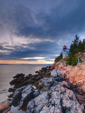 Maine, Mount Desert Island, Bas Harbor, Bas Harbor Lighthouse, USA by Alan Copson