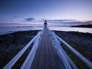 Maine, Port Clyde, Marshall Point Lighthouse, USA by Alan Copson