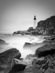 Maine Portland Head Lighthouse Usa By Alan Copson