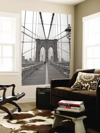 Manhattan and Brooklyn Bridge, New York City, USA