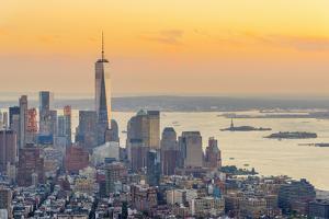 Manhattan, Lower Manhattan and Downtown, World Trade Center by Alan Copson