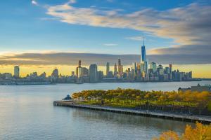 Manhattan, Lower Manhattan and World Trade Center by Alan Copson