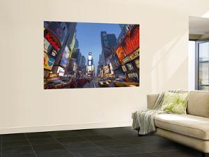 Manhattan Times Square, New York City, USA by Alan Copson