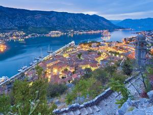Montenegro, Bay of Kotor, Kotor by Alan Copson