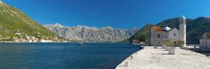 Montenegro, Bay of Kotor, Perast, Our Lady of the Rocks Island, Church of Our Lady of the Rocks by Alan Copson