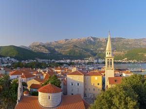 Montenegro, Budva, Old Town, Stari Grad, Church of the Holy Trinity by Alan Copson