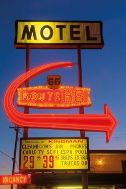 Motel Route by Alan Copson