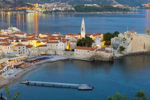Old Town (Stari Grad), Budva, Montenegro, Europe by Alan Copson