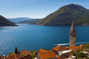 Perast, Bay of Kotor, UNESCO World Heritage Site, Montenegro, Europe by Alan Copson