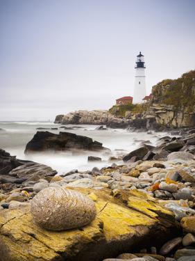 Portland Head Lighthouse, Portland, Maine,New England, United States of America, North America by Alan Copson