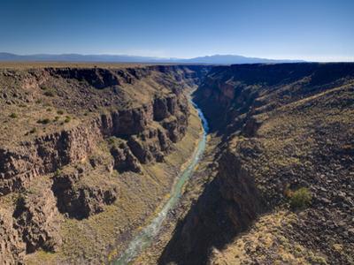 Rio Grande Gorge Bridge Near Taos, New Mexico, United States of America, North America by Alan Copson