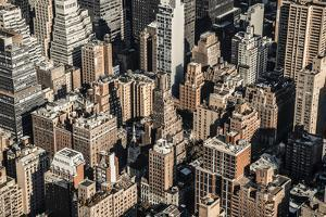 Rooftops, Midtown, Manhattan, New York, United States of America, North America by Alan Copson