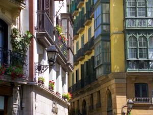 Siete Calles Area, Bilbao, Basque Country, Spain by Alan Copson