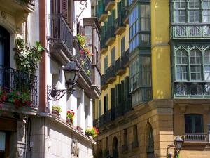 Siete Calles Area, Bilbao, Basque Country, Spain by Alan Copson