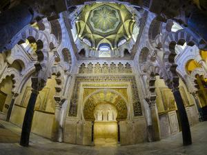 Spain, Andalucia, Cordoba Province, Cordoba, Mezquita, Cathedral of Cordoba by Alan Copson