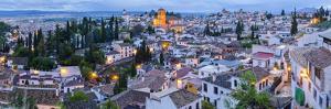 Spain, Andalucia, Granada Province, Granada, Sacromonte and Albaicin Districts by Alan Copson