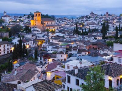 Spain, Andalucia, Granada Province, Sacromonte and Albaicin Districts by Alan Copson