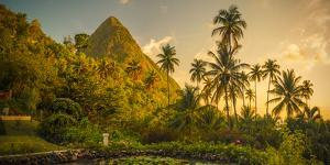 St Lucia, Soufriere, Sugar Beach Resort, Formerly Jalousie Plantation Resort and Gros Piton by Alan Copson