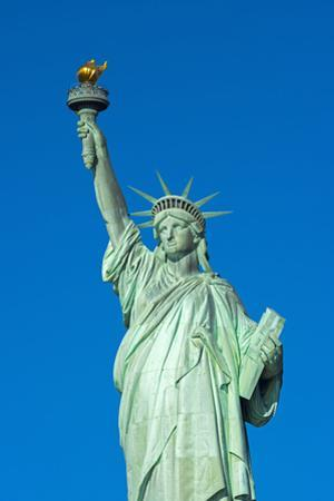 Statue of Liberty, Liberty Island, Manhattan, New York, United States of America, North America by Alan Copson