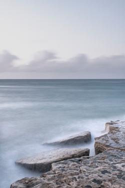 Stormy Sea Shelves by Alan Copson
