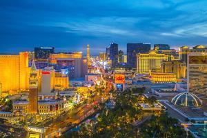 The Strip, Las Vegas, Nevada, United States of America, North America by Alan Copson