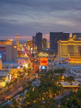 The Strip, Las Vegas, Nevada, United States of America, North America by Alan Copson