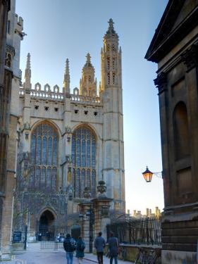 UK, England, Cambridge, Cambridge University, Kings College, Kings College Chapel by Alan Copson