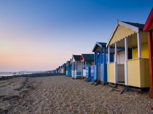 UK, England, Essex, Thames Estuary, Southend, Shoeburyness by Alan Copson