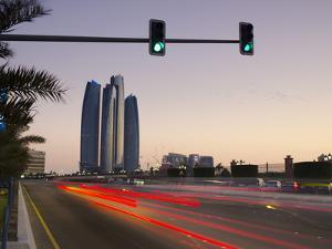 United Arab Emirates, Abu Dhabi, Etihad Towers by Alan Copson