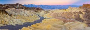 Usa, California, Death Valley National Park, Zabriskie Point by Alan Copson