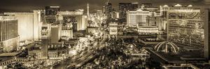 Usa, Nevada, Las Vegas, the Strip by Alan Copson