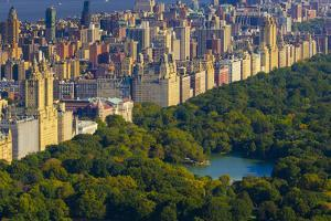 Usa, New York, Manhattan, Central Park by Alan Copson