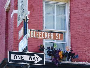 USA, New York, Manhattan, Lower Manhattan, Greenwich Village, Bleecker Street by Alan Copson