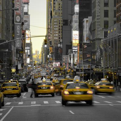 USA, New York, Manhattan, Midtown, 7th Avenue by Alan Copson