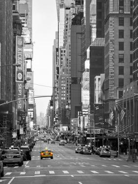 USA, New York, Manhattan, Midtown, 7th Avenue by Alan Copson