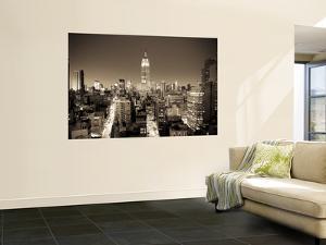 Usa, New York, Manhattan, Midtown, Empire State Building by Alan Copson