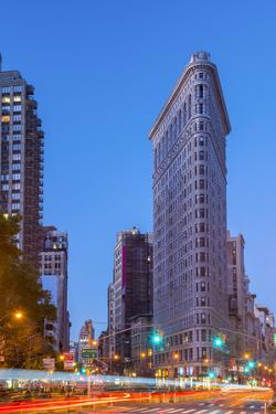 Usa, New York, Manhattan, Midtown, the Flatiron Building by Alan Copson