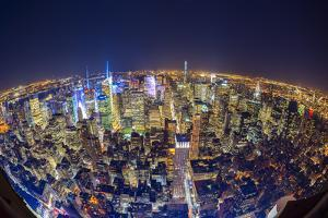 Usa, New York, Manhattan, Midtown by Alan Copson