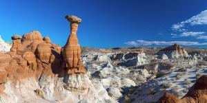 Usa, Utah, Grand Staircase Escalante National Monument, the Toadstools by Alan Copson