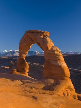 Utah, Arches National Park, Delicate Arch, USA by Alan Copson