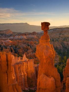 Utah, Bryce Canyon National Park, Thors Hammer Near Sunset Point, USA by Alan Copson
