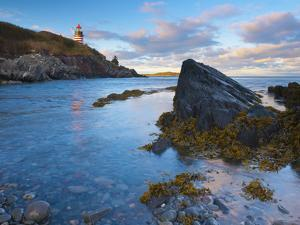 West Quoddy Lighthouse, Lubec, Maine, New England, United States of America, North America by Alan Copson