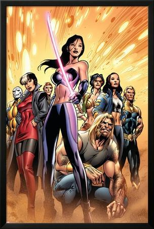 New Exiles No.8 Cover: Psylocke and Sabretooth