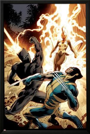 Wolverine #8 Cover: Wolverine, Storm, Black Panther