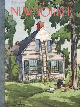 The New Yorker Cover - June 12, 1948 by Alan Dunn