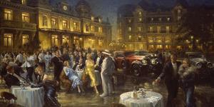 Apres L'Opera by Alan Fearnley