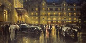 Casino Square by Alan Fearnley